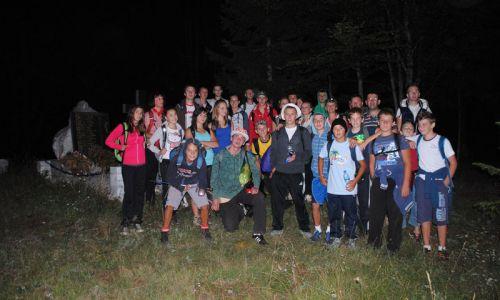 Noćni uspon na Lopatu 2012